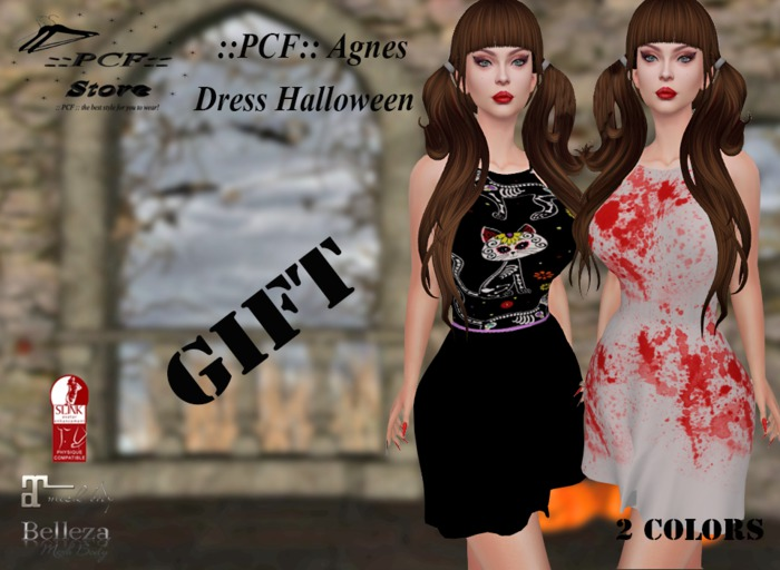 ::PCF: Agnes Dress Gift Wear me/Touch me