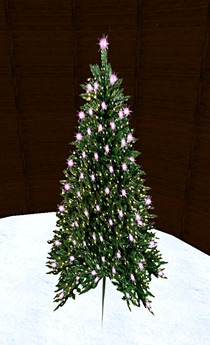 Blinking Christmas Tree 1 (1 Prim)