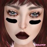 ~Dollypop~ BOM & Classic Tattoo - Eye Black - Sunscreen Tintabl