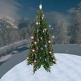 Blinking Christmas Tree 2 (1 Prim)