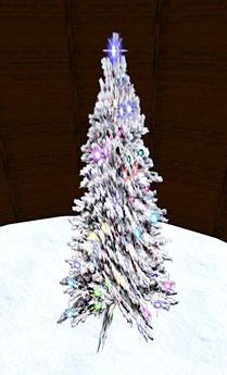 Blinking Christmas Tree 3 (1 Prim)