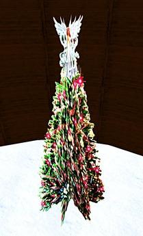 Blinking Christmas Tree 4 (1 Prim)