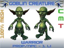 GOBLIN CREATURE - WARRIOR