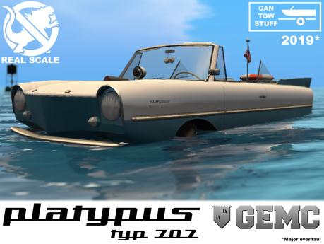 GEMC - Platypus Typ 707