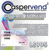CasperVend² Gift Voucher Expansion Pack Gift Card System