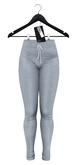 .: vive nine :. Tami Ribbed Track Pants - Grey