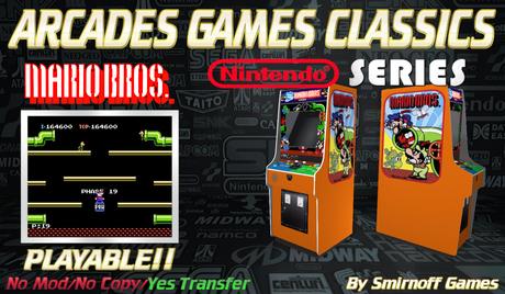 = Mario Bros = Niintendo Arcades Games [BOX]