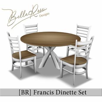 [BR] Francis Dinette Set