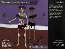 /studioDire/ Tabletop - Skeletal Pirate