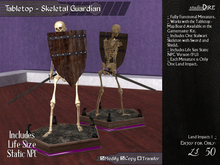 /studioDire/ Tabletop - Skeletal Guardian