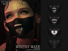 [Yomi] Mouthy Mask - Ahegao