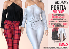 Addams - Portia - Suit Pants #FATPACK