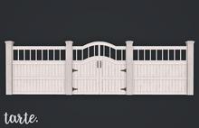 tarte. charleston fence kit (white)