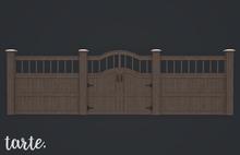 tarte. charleston fence kit (dark brown)
