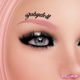 ~Dollypop~ Babydoll Left Eye -  Tintable BOM & Classic Tattoo