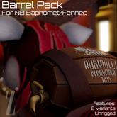[inZoxi] - Barrel backpack for NB Baphomet/Fennec