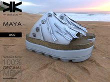 Maya :: Woman Shoes :: White :: {kokoia}