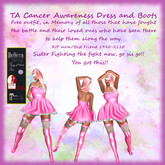 TA Cancer Awareness Dress and Boots