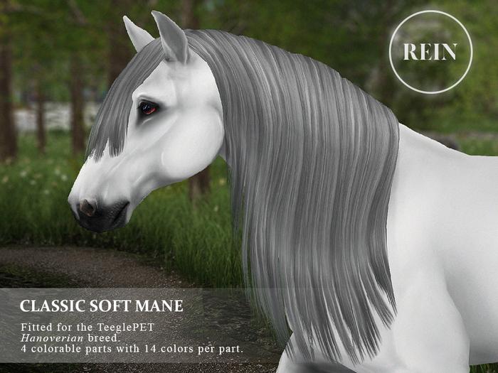 REIN - TeeglePet Classic Soft Mane HANOVERIAN