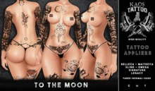 KAOS TO THE MOON TATTOO