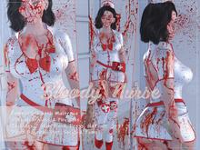DM:: Bloody Nurse Set  Maitreya  - Slink