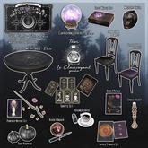 ..::THOR::.. Le Clairvoyant Set - Ouija Board Noir - ULTRA RARE