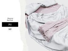 Nutmeg. Disarray Bed Pink PG
