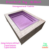 T.A.T - Insquared Coffee table (( Halloween & introduction sale !))