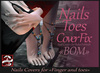 *!* EVE & ADAM Tattoo fix finger & toe - for BakeOnMesh - Skin BOM