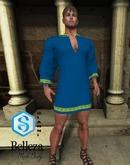XK Romanesque Long Tunic Blue