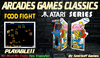 = Food Fight = Atari Arcades Games [BOX]