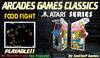 = Food Fight = Atari Arcades Games [BOX]