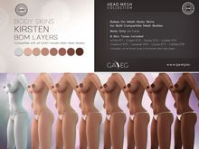 [GA.EG] Kirsten Body Skins - Full Pack - BOM Layers