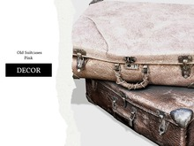 Nutmeg. Old Suitcases Pink
