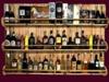 BAR DRINKS Reclaimed Wood 3 Shelf HOME WALL DECOR Hanging Art 3D Look Flat ALPHA 1 PRIM Copy/Mod House Beauty furniture