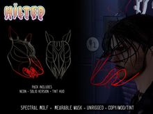 HILTED - Spectral Wolf Mask Pack