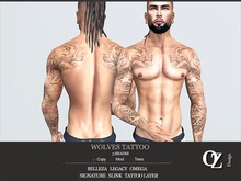 Oz Design : Wolves Tattoo