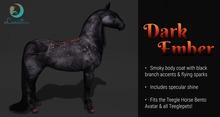 Lunistice: Dark Ember - Teegle Body Coat & Hooves