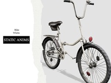 Nutmeg. Bike White