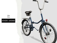 Nutmeg. Bike Blue