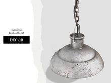 Nutmeg. Industrial Pendant Light
