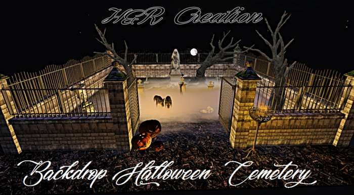 Backdrop Halloween 50% SALE