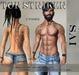 TOP STRIKER / TATTOO SAI MALES + BoM (Bakes on Mesh)
