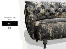 Nutmeg. Chesterfield Sofa Black PG