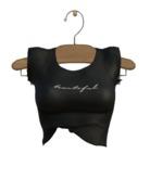 TABOU. Lexi T-Shirt {Beautiful Black}.( Add! )