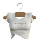 TABOU. Lexi T-Shirt {Beautiful White}.( Add! )