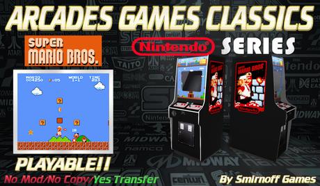 = Super Mario Bros = Niintendo Arcades Games [BOX]