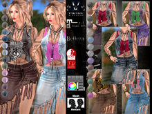 V-Twins- Casual Clothes - Witness Color Version **MESH Outfit [Mesh Bodies Compatible] Maitreya Slink Belleza