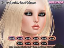 ~Dollypop~ Sugar Sparkles Eye Makeup - Layerable! - Classic & Bakes On Mesh
