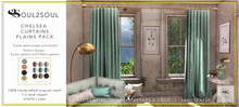 S2S Chelsea Curtains Plains (Box)